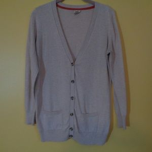 Faded Glory button front cardigan